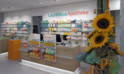 Laurentius Apotheke Innen