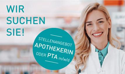 Apothekerin und PTA · Bewerben Sie sich noch heute