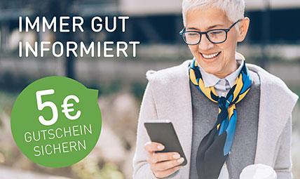 Gutschein 5€ Newsletter